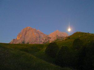 La luna ci indica il cammino